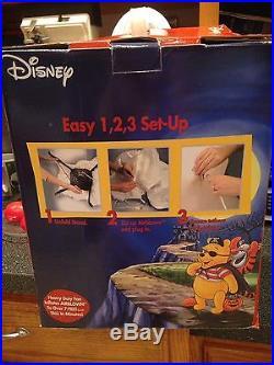 Disney Winnie the Pooh Vampire Dracula Halloween Giant Airblown Inflatable 7 Ft+