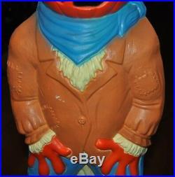 EMPIRE Halloween Pumpkin Head Scarecrow BlowMold 34 Yard Decoration Display