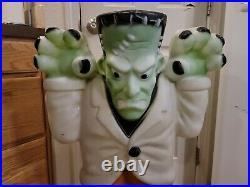 EMPIRE Vintage Blow Mold Large Frankenstein Monster Halloween Lighted Yard Decor