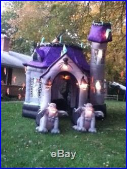 GEMMY 12.5 Foot Halloween Airblown Inflatable Haunted House