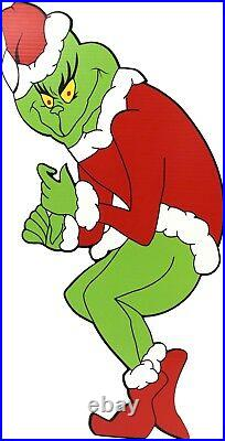 GRINCH Stealing CHRISTMAS Lights LEFT GRINCH + CINDY+ MAX Yard Art Decor