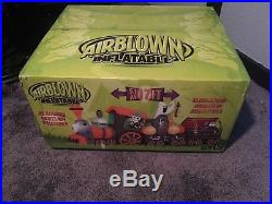 Gemmy 17ft Halloween Animated Train Inflatable Blowup
