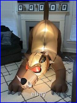 Gemmy Airblown Animated Inflatable Hellhound Halloween Yard Decoration