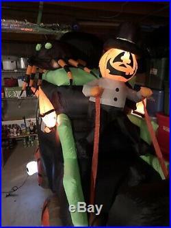Gemmy Airblown Inflatable 11 CUSTOM hearse Carriage Horse Spider Halloween