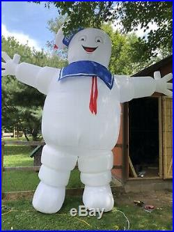 Gemmy Airblown Inflatable 13ft Stay Puft Marshmallow Man Ghostbusters Halloween