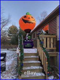 Gemmy Airblown Inflatable 15 Halloween Hot Air Balloon SUPER RARE Perfect Shape