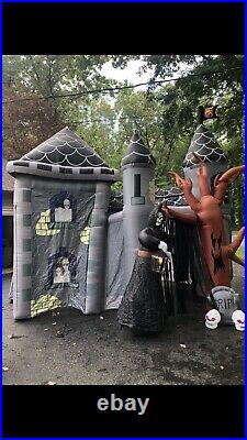 Gemmy Airblown Inflatable Haunted House