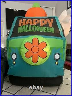 Gemmy Airblown Inflatable Prototype 10 Ft Scooby Doo Mystery Machine