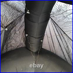 Gemmy Halloween Airblown Inflatable Black Cat Over 9 ft Tall withLights