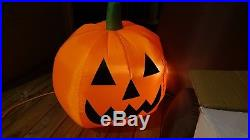 Gemmy Halloween Airblown Inflatable Light-Show Sync Musical Tree Blow Up Yard
