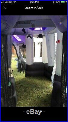 Gemmy Inflatable Airblown Haunted House 12.5 Feet Tall