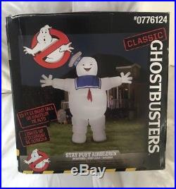 Gemmy Stay Puft Marshmallow Man Ghostbusters Halloween 13 Ft Airblown Inflatable