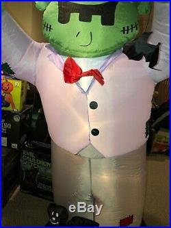 Giant 8ft Airblown Frankenstine Inflatable Gemmy Halloween Rare