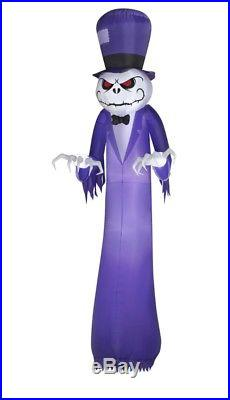 Grim Reaper Halloween 16ft Tall, Lighted, Inflatable Yard Decoration Ghost, Huge