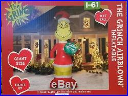 Grinch Christmas 11 Ft Led Airblown Inflatable