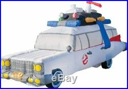 HALLOWEEN 9FT GHOSTBUSTERS ECTO-1 ECTOMOBILE GEMMY Airblown Inflatable AMBULANCE