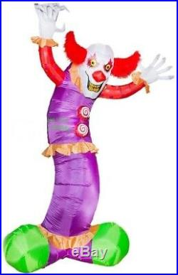 HALLOWEEN 9.5 Ft GIANT CLOWN Airblown Inflatable YARD DECORATION
