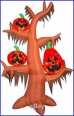 HALLOWEEN PUMPKIN TREE PROJECTION Kaleidoscope HAUNTED INFLATABLE AIRBLOWN
