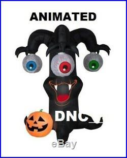 Halloween 10 Foot ANIMATED SPINNING EYEBALLS Tree Airblown Inflatable Prop Yard