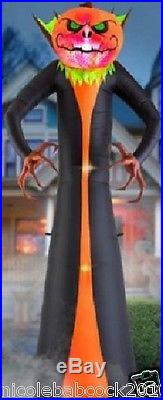 Halloween 12 Projection Lighted Grim Reaper Pumpkin 2016 Phantasm Yard Decor