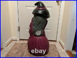 Halloween 34 Witch Lighted Blow Mold Yard Decoration, General Foam
