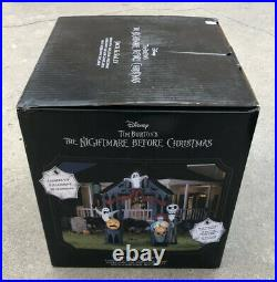 Halloween Airblown 9Ft Nightmare Before Christmas Archway Self Inflat NEW IN BOX