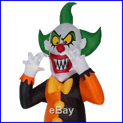 Halloween Airblown Inflatable 12 Feet Tall Clown by Gemmy Industries