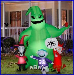 Halloween Airblown Inflatable 7' Oogie Boogie Nightmare Before Christmas Scene