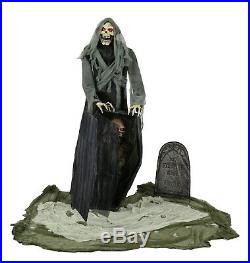 Halloween Animated Grave Yard Ghoul Haunted House Prop Decoration