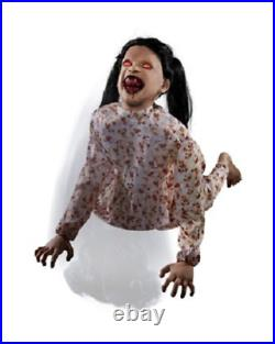 Halloween Animated Little Hanging Bloodthirsty Betty Haunted House Horror Prop