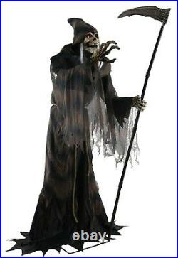Halloween Animated Lunging Reaper Life Size Prop Haunted House Outdoor Spirit