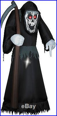 Halloween Animated Reaper Skeleton Inflatable Airblown 12 Ft