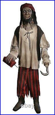 Halloween Animatronic Lifesize Pirate Haunted House Prop Decor== Free Step Pad