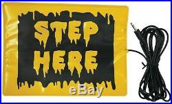Halloween Animatronic Lifesize Shaking Mummy Corpse Decor +free Step Pad
