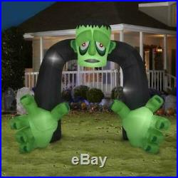 Halloween Archway Monster Inflatable 10 Ft Air-Blown Giant Outdoor Decoration