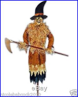 Halloween Harvester Of Souls Animated Over 6 Ft Tall Prop Yard Decor