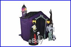Halloween Inflatable Decoration LED Haunted House Skeleton Ghost Skull Tombstone