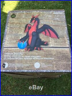Halloween Inflatable Dragon AirBlown Blow Up Yard Lawn Decoration Holidays