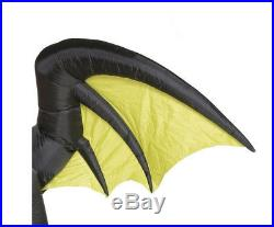 Halloween Inflatable Dragon Animated Wings Fire Lighted Airblown Yard