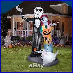 Halloween Nightmare Before Christmas Jack Skellington Sally Zero Dog Inflatable