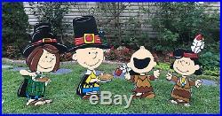 Halloween Peanuts Pumpkin Yard Art