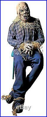 Halloween scarecrow prop decor porch patio haunted house decor