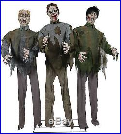 Halloweenr animated ZOMBIES Prop Haunted House Horror Display