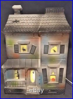 Haunted House Blow Mold VTG HALLOWEEN Vintage Don Featherstone RARE LIGHTED