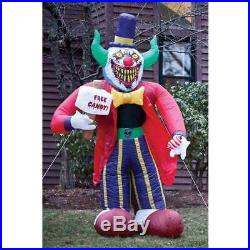 Huge 7' Clown Airblown Halloween Inflatable Outdoor Yard Decoration Lighted Prop