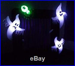 Impact Canopy Halloween Inflatable Yard Decoration, Blow Up Lighted Ghost Arch