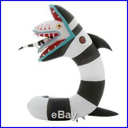 In Stock ANIMATED BEETLEJUICE SAND WORM Halloween Lighted Yard Inflatable
