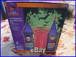 Inflatable Archway House of Horrors Outdoor Halloween Outdoor Lighted 9.5 ft