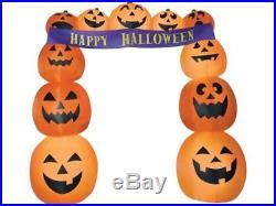 Inflatable Pumpkin Archway Airblown Banner Gemmy Yard Halloween Haunted House