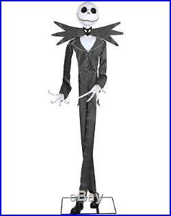 Jack Skellington Animatronics Decoration The Nightmare, Spirit Halloween 6 Ft